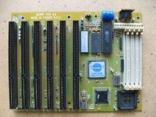 Rare! Vintage M396F AT Motherboard 386SX-20 AMI BIOS 6-ISA Slots PC