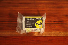 Genuine Epson 126 Ink Cartridge - Yellow BRAND NEW FACTORY SEALED
