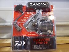 Daiwa Crossfire 2500-3Bi spinning reel New in Clam