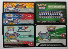 10 x MIXED Sun & Moon / XY Online Booster Codes - Pokemon TCG