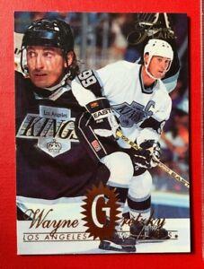 NHL WAYNE GRETZKY Kings Fleer Flair 1994-95 Silver Foil Trading CARD #79