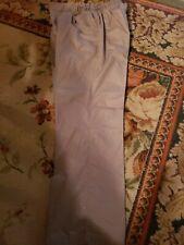 Women's scrub pants medium petite Taupe color Euc
