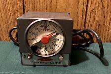 Vtg MASTER Industrial Timer M-59 TIME-O-LITE Photography ENLARGER & SAFELIGHT