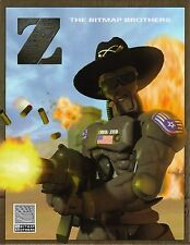 New! Z by the Bitmap Brothers BIG BOX Version PC Game CD-ROM USA SHIPPING