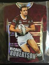 2009 Select NRL Classic Holofoil Jersey Die cut teamset Manly Sea Eagles (6)
