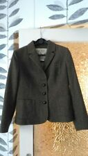 JACK WILLS TWEED  BLAZER JACKET SIZE:UK 10