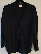 SWEET ROMEO Black Long Sleeves Dolman Style Knit Cardigan SZ M NWOT