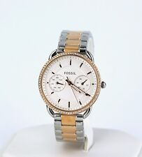 Women's Fossil Watch, Tailor Multifunction Two-Tone Watch ES4396, New