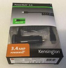 Kensington PowerBolt 3.4 K38119WW Chargeur de voiture pour Samsung Galaxy MICRO