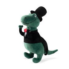 Fringe Studio Rex Ready Suited-up T-Rex Plush Squeaker Dog Toy