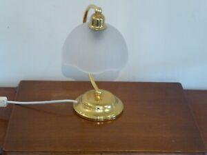 Modern Vintage Marks & Spencer Table Lamp In Gold