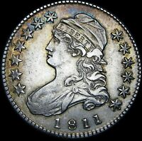 1811 Capped Bust Half Dollar   ---- Nice Type Coin ---- #G841