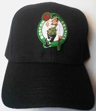 Boston Celtics Heat Applied Applique on Classic Black cap hat! Adjustable!