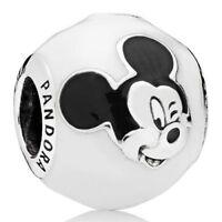 PANDORA Disney Fröhlicher Micky Charm 796339ENMX