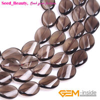 "Natural Gemstone Assorted Oval Stone Loose Beads For Jewelry Making 15"" in Lots"