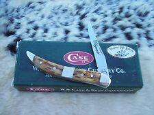 CASE XX # 2006 SFO ANTIQUE BONE ELEGANTE' SMALL TEXAS TOOTHPICK KNIFE KNIVES