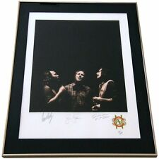 CROSBY STILLS NASH Signed 1991 FRAMED LITHOGRAPH Joel Bernstein AWESOME!!