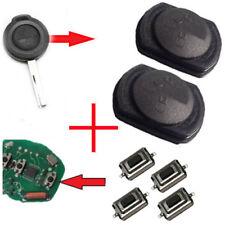 Für Smart 454 Mitshubishi 2x Tastenfeld Funkschlüssel Schlüssel Gummi + 4 Taster