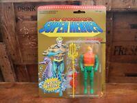 DC Comic Super Heroes - Aquaman- Toy Biz 1990 - MOC