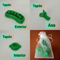Tapones kit limpieza flexible Cecotec Mambo 10090, 10070, 9590, 9090, 8090, 7090