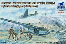Bronco Models 1/35 German Tactical Assault Glider DFS 230 B-1 w/4 Paratroopers