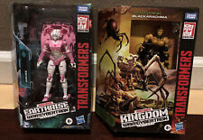 TRANSFORMERS EARTHRISE/KINGDOM - WAR FOR CYBERTRON LOT: ARCEE AND BLACKARACHNIA