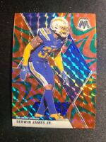 F71 2020 Mosaic Derwin James Jr. Green Reactive Prizm Los Angeles Chargers Mega