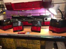 VW Passat B3 35i 88 -93 HELLA Smoked/Red Euro Tail Lights & Heckblende, Rare NOS