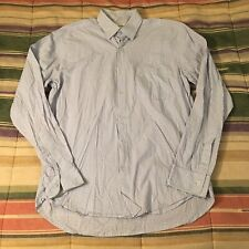 Steven Alan Made In Usa Check Button Shirt Medium