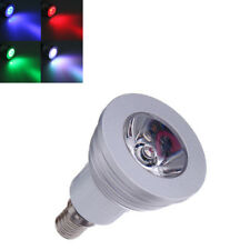 E14 3W 16 RGB Changing LED Bulb Lamp with Remote Control AC 90-240V