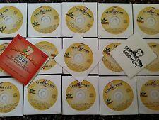 SUPERCORE KARAOKE CDG   16 DISCS  295  SONGS   POP, ROCK &COUNTRY  STARTER PACK