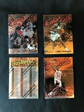 Lot of 3 1997-98 Topps Finest Catalysts Insert Cards Pippen Drexler Anderson