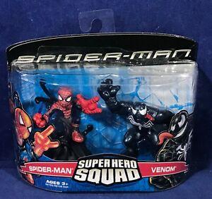 SPIDER-MAN vs VENOM - Super Hero Squad Figure 2-Pack Set 2007 - Cake Topper