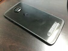 Motorola Moto Z2 Force XT1789  (Sprint) Eagle Black Smartphone Very Good