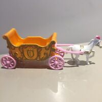 Disney Cinderella Small Vintage Horse And Carriage