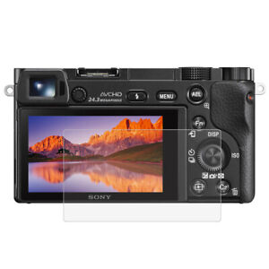 Tempered Glass Film Screen Protector Cover For Sony A6000/A6300/A6500 Camera