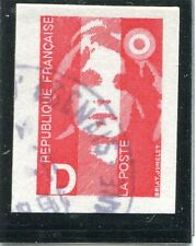 STAMP / TIMBRE FRANCE OBLITERE N° 2713 TYPE MARIANNE DE CARNET
