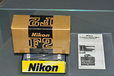 nikon mf-3, mint,original boxed/manual