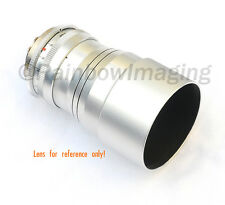 Silver Screw-in Metal Lens Hood FOR Olympus M.Zuiko ED 75mm f1.8