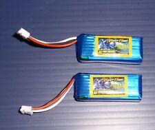 2X UMX Timber Upgrade Lipo Batteries 7.4v 300mAh 35C High Performance Fast FrUSA