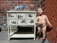 SHABBY CHIC  Wooden 6 Draw Dresser.