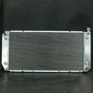 Aluminum Radiator 1520 3 Row For Chevrolet R25 C35 C/K Series Silverado 92-04