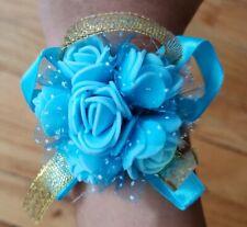 Beautiful Wrist Corsage Bracelet Bridesmaid Hand Flower Wedding Party Bouquet