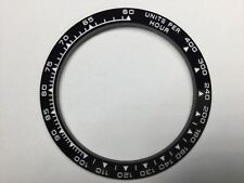 TOP QUALITY CERAMIC BEZEL IN BLACK WITH WHITE ENGRAVED FOR ROLEX DAYTONA 16520