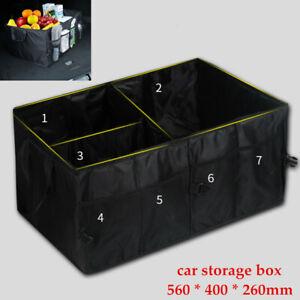 Car Auto Trunk Organizer Storage Bin Bag Collapsible Fold Grocery Caddy Box 1PCS