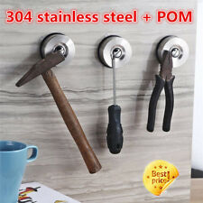 Powerful Suction Cup Magnetic Knife Holder Stainless Steel no Screws no Holes HE