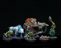 Warhammer Underworlds: – Hrothgorn's Mantrappers - painted