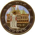 A2948 Allemagne 2 Euros Commemo Bremen Hotel Ville 2010 Colorful Colorisé FDC UN