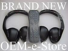 2007 to 2014 GMC Yukon Acadia Sierra Wireless Headphones Set + Remote 100%OEM