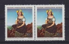 DDR Mi Nr. 1398 ** Paar, Kunst Gemälde Galerie Dresden 1968, postfrisch, MNH